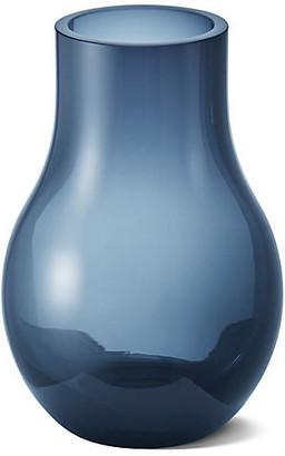 "Georg Jensen Cafu Vase - Blue 3"""