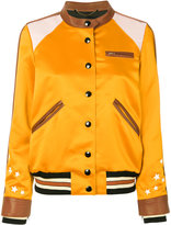 Coach Varsity Racer bomber jacket - women - Polyester/Viscose - 6