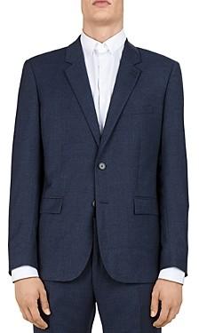 The Kooples Sea Checks Wool Slim Fit Sport Coat