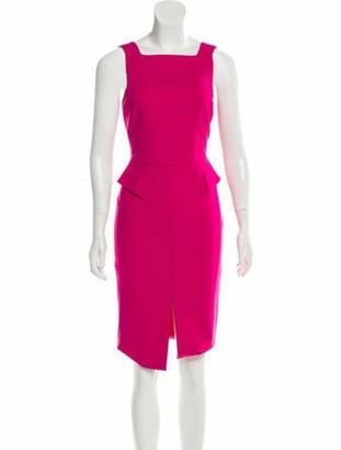 Emilio Pucci Sleeveless Cocktail Dress Pink