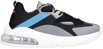 D.A.T.E Aura Net Sneakers In Black Synthetic Fibers