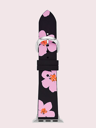 Kate Spade Floral Silicone 38/40Mm Apple Watch Strap