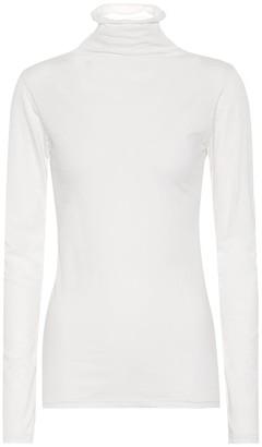 Velvet Talisia stretch-cotton top
