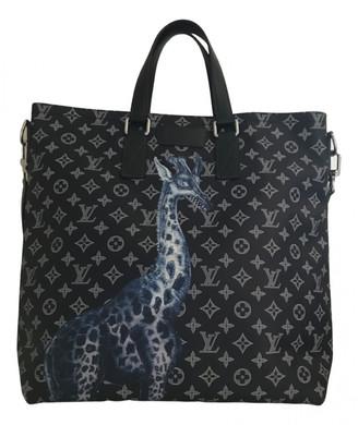 Louis Vuitton Blue Cloth Bags