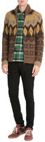 Etro Zipped Cardigan with Wool, Mohair and Angora