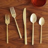 west elm Gold Flatware Sets