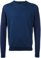 Lanvin two-tone jumper - men - Cotton/Wool - S