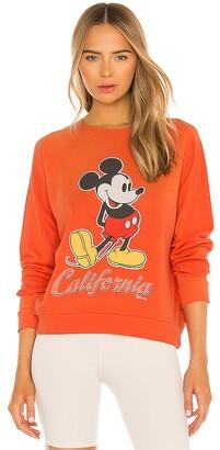 Junk Food Clothing Mickey California Crew Sweatshirt