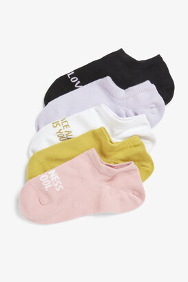 Monki 5-pack sneaker socks