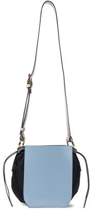 Marni Gusset leather shoulder bag