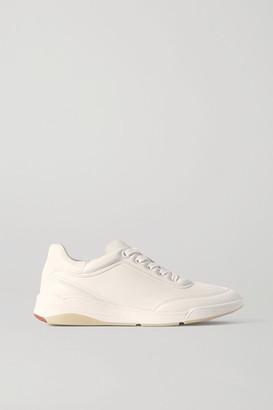 Loro Piana Play Leather Sneakers - White