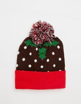 7X Pudding Bobble Hat