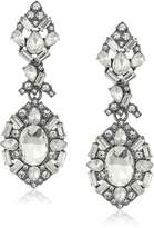 "ABS by Allen Schwartz Black Magic"" Linear Chandelier Drop Earrings"