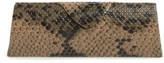 Corinne McCormack Women's Triangle Reading Glasses Case - Green Multi