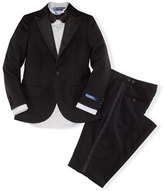 Ralph Lauren Fairbanks Wool Tuxedo, Black, Boy's Sizes 4-7