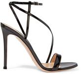 Gianvito Rossi Patent-leather Sandals - Black
