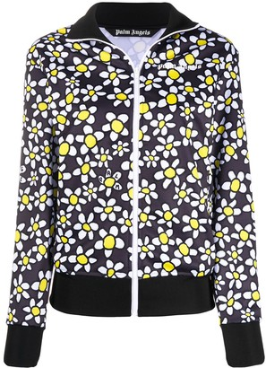 Palm Angels Palm Daisies track jacket