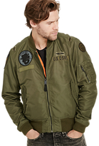Denim & Supply Ralph Lauren Patch Bomber, Everglade