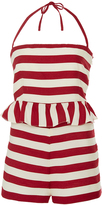 RED Valentino Striped Jumpsuit