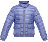 Moncler Lans Flap-Pocket Lightweight Down Puffer Jacket, Size 2-6
