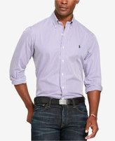 Polo Ralph Lauren Men's Striped Poplin Sport Shirt