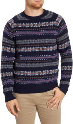 Peter Millar Mountainside Fair Isle Wool Blend Sweater