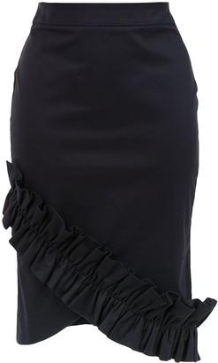 Isolda Amaryllis pencil skirt