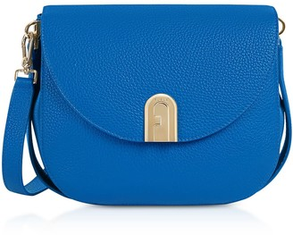 Furla Genuine Leather Sleek S Crossbody Bag
