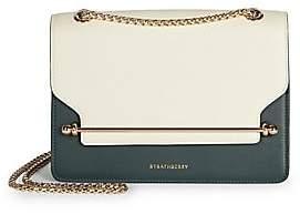 Strathberry Women's East/West Tri-Color Leather Shoulder Bag