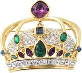 One Kings Lane Vintage Swarovski Crystal Crown Brooch