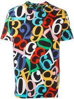 Love Moschino number print T-shirt