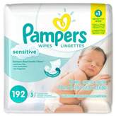 Pampers Sensitive® 192-Count Baby Wipes Refill Pack