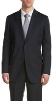 Zanetti Classic Wool Suit With Flat Front Pant.