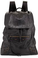 Balenciaga Classic Traveler Small Leather Backpack
