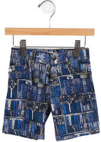 Paul Smith Boys' Printed Denim Shorts w/ Tags