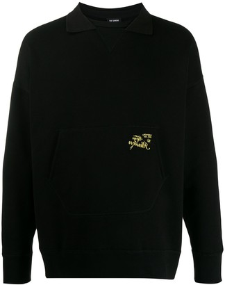 Raf Simons Polo Collar Sweatshirt