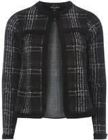 Dorothy Perkins Check Fringe Jacket