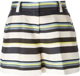 Jil Sander Navy striped shorts