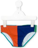 Bobo Choses colour block swim trunks