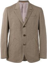 Caruso triple button blazer - men - Cotton/Linen/Flax/Cupro/Viscose - 50