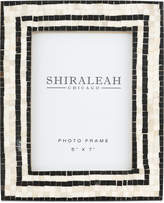 "Shiraleah Griggio Mosaic 5"" x 7"" Picture Frame"