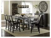 Progressive Willow Rectangular Counter Height Dining Table - Distressed Black