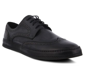 Spring Step Men's Leather Lace-Up Oxfords - Joey