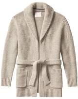 Banana Republic Heritage Italian Wool-Blend Open Cardigan Jacket