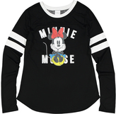 Jerry Leigh Minnie Mouse Black Brand Tee - Juniors