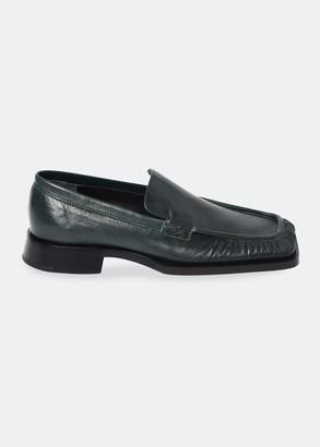 Jil Sander Nikky Leather Loafers