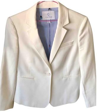 Mira Mikati Ecru Cotton Jacket for Women