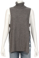 Autumn Cashmere Shaker Sitich Open Side Sleeveless Sweater