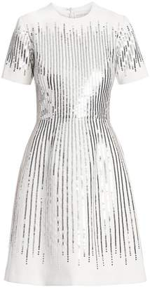 Ahluwalia Sequined Fit-&-Flare Dress