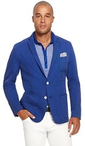 HUGO BOSS Morell-D Regular Fit, Stretch Cotton Sport Coat - Turquoise/Aqua